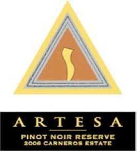 2007 Artesa Winery Limited Release Carneros Pinot Noir