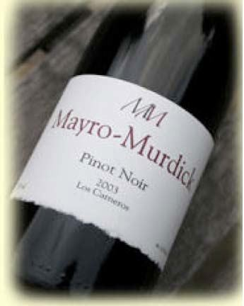 2005 Mayro Murdick Estate Carneros Pinot Noir