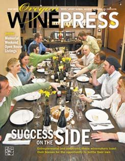 Oregon Wine Press: News You Can Use on the Oregon Wine
