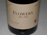 2012 Flowers Vineyard & Winery Camp Meeting Ridge Estate Vineyard Sonoma Coast Pinot Noir