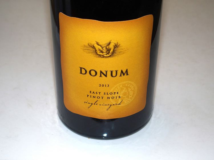 2013 Donum East Slope Single Vineyard Carneros Pinot Noir