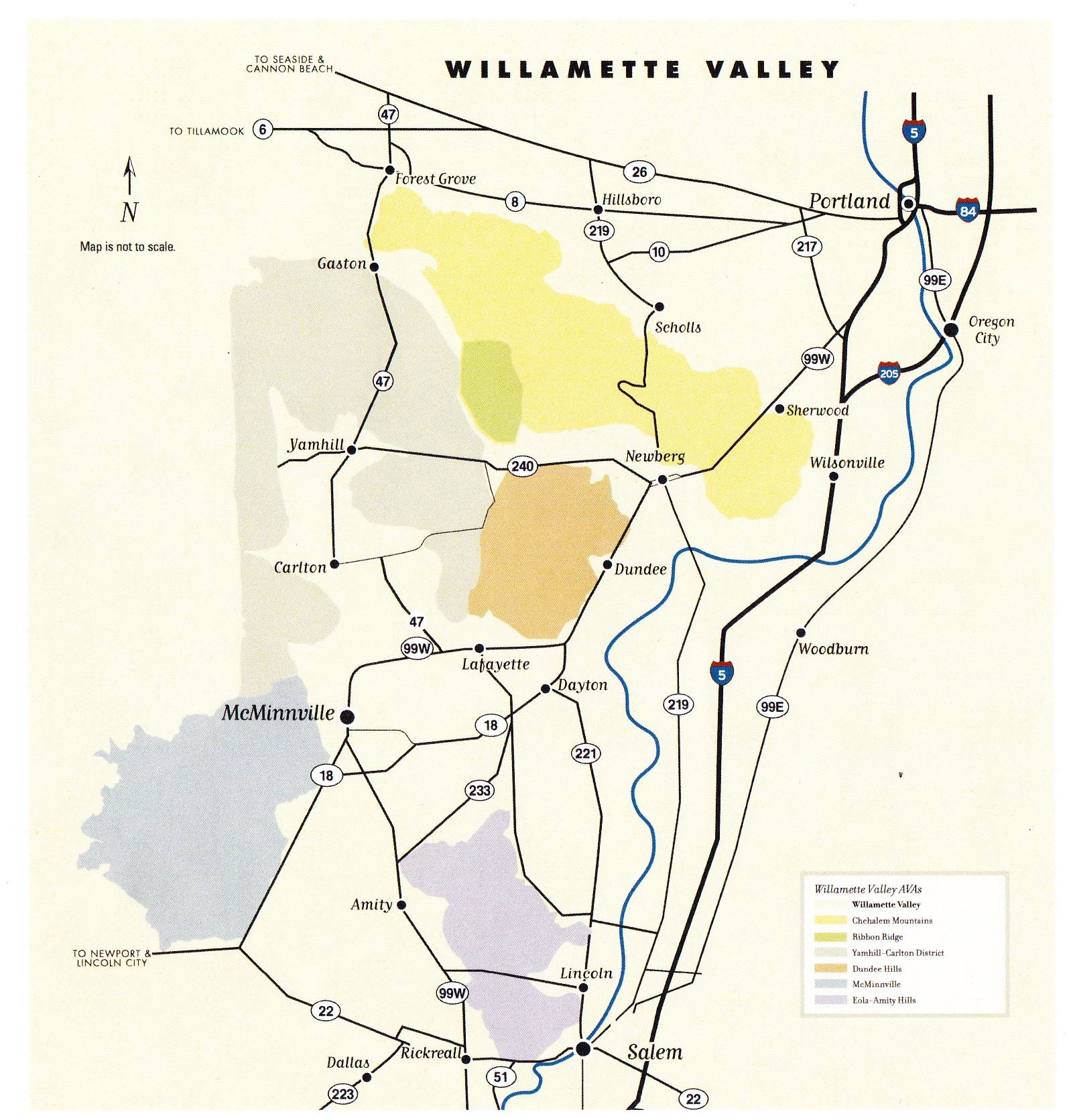 On Pinot Trail In Willamette Valley Pt Ii The Pinotfile