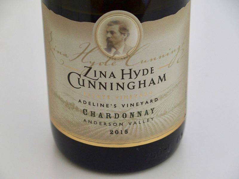 2015 Zina Hyde Cunningham Adeline's Vineyard Anderson Valley Chardonnay