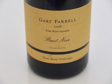 2016 Gary Farrell Fort Ross Vineyard Seaview Pinot Noir