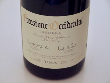 2017 RAEN Bodega Vineyard Freestone Occidental Sonoma Coast Pinot Noir