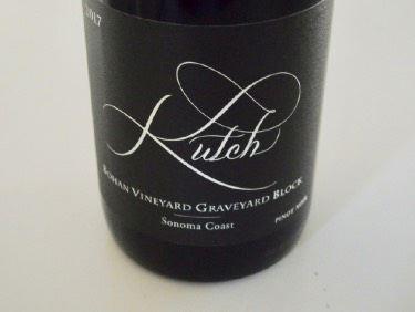 cheap for discount 1a827 035f2 2017 Kutch Bohan Vineyard Graveyard Block Sonoma Coast Pinot Noir