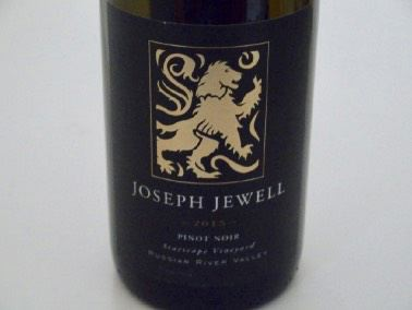 2015 Joseph Jewell Starscape Vineyard Russian River Valley Pinot Noir