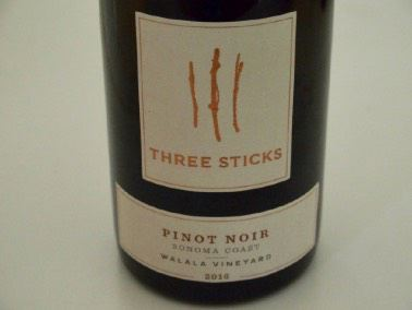 2016 Three Sticks Walala Vineyard Sonoma Coast Pinot Noir