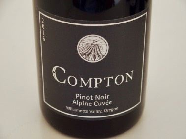 2016 Compton Alpine Cuve Willamette Valley Pinot Noir
