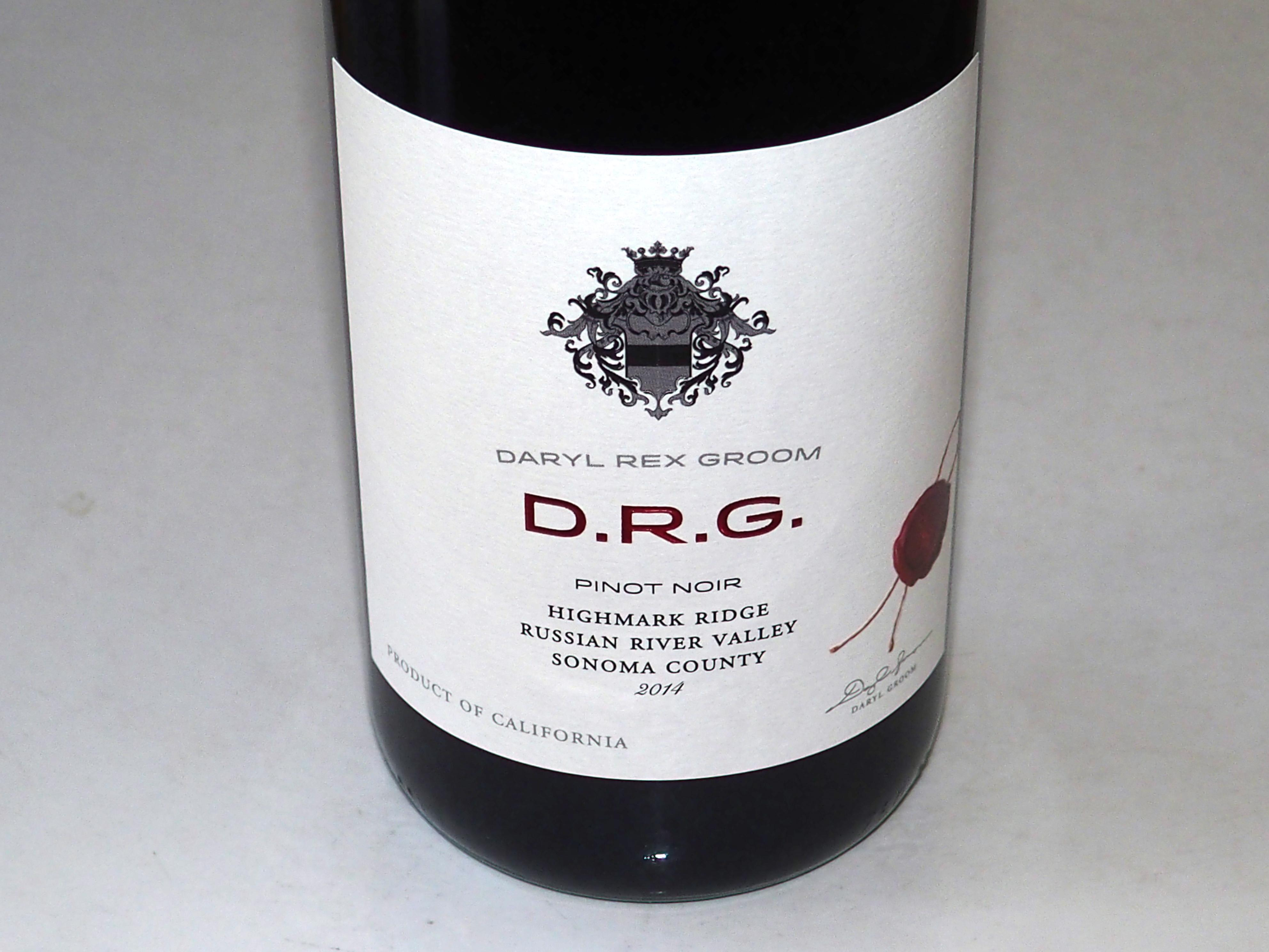 Daryl Rex Groom D.R.G. Wines